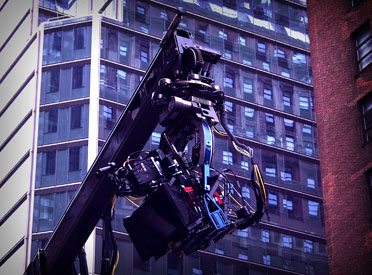 Stereoscopic 3D Red EPIC on a Technocrane with a Libra Head